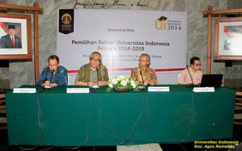 Pendaftaran Calon Rektor UI 2014-2019 Dibuka Agustus Ini