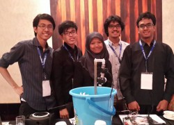 Students of UI won The 1st Hackathon Hardware in Indonesia