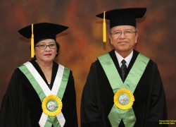 The Rector of UI Inaugurated Professors of Faculty of Medicine and Faculty of Dentistry