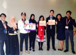 Students of UI Won the 24th Harvard World Model United Nations