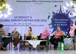 UI Held a Global Insight International  Education Exhibition