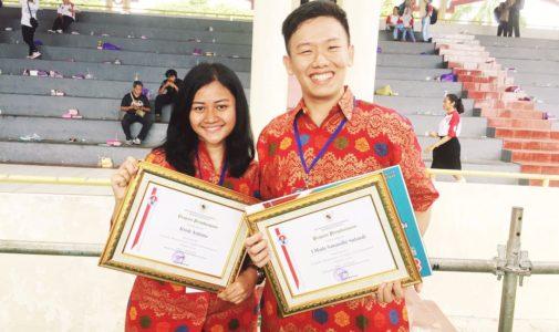 Dua Mahasiswa UI Raih Penghargaan Pemuda Tingkat Internasional