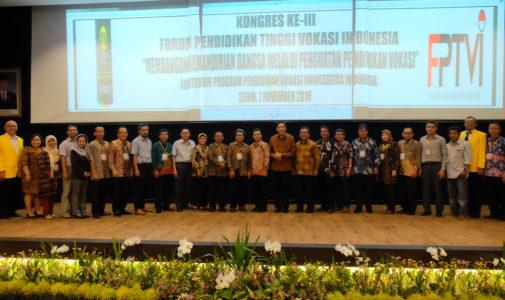 Vokasi UI Jadi Tuan Rumah Kongres Vokasi se-Indonesia