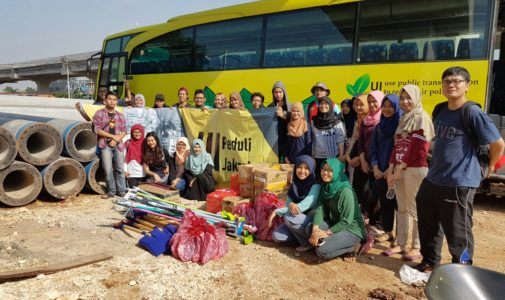 UI Peduli Salurkan Bantuan ke Banjir Jakarta