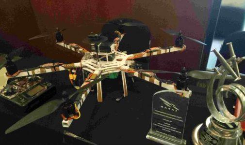 Mahasiswa UI Ciptakan Drone untuk Pertanian dan Pencarian Mayat