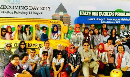 Reuni Hangat Kenangan Melekat di Homecoming Day Fakultas Psikologi UI