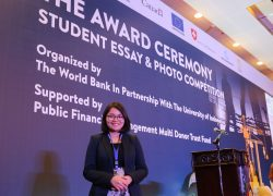 Student of FEB UI Got The Best Essay  Award in World Bank Competition Event