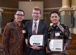 UI Master Student Received Appreciation as International Sheldon Tieszen Student Award