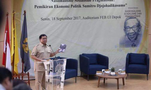 Memahami Pemikiran Politik Ekonomi Sumitro Djojohadikusumo