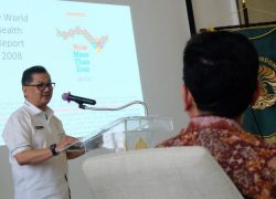 Kadinkes Paparkan Program Pelayanan Kesehatan DKI Jakarta di UI