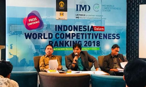 Peringkat Indonesia Naik di IMD World Competitiveness 2018