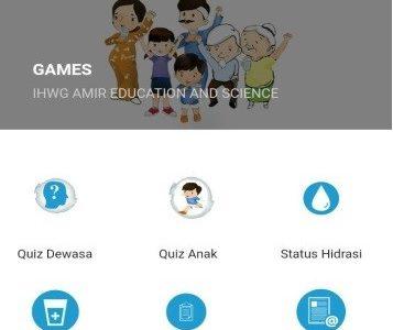 Para Dokter FKUI Kembangkan Aplikasi Kampanye Air Sehat, GAMES
