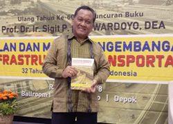 Guru Besar Transportasi UI Luncurkan Buku Infrastruktur Transportasi