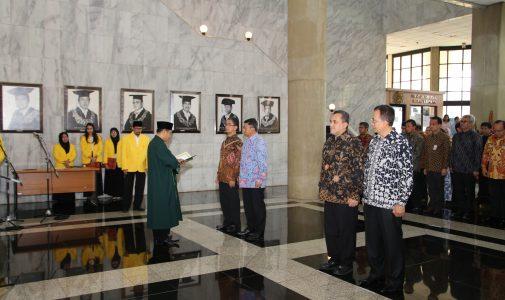 UI Lantik Dua Wakil Rektor Baru