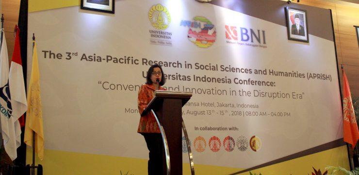 Sri Mulyani Bicara Tentang Perkembangan Ekonomi Digital di APRiSH 2018