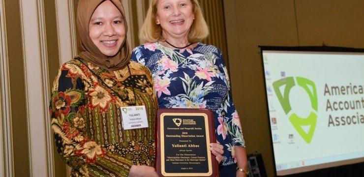 Dosen UI Menangkan Disertasi Terbaik di American Accounting Association 2018