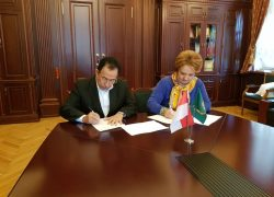 UI Signed Cooperation with Russian University