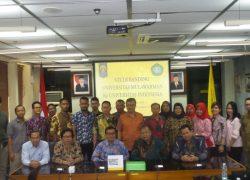 Universitas Mulawarman Lakukan Studi Banding ke UI