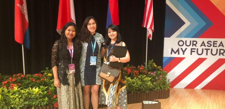 UI Received Honor in ASEAN Youth Conference