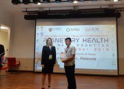 """Mahasiswa FKM UI Raih """"2nd Place Student Poster"""" di  APRU Global Health Conference 2018"""