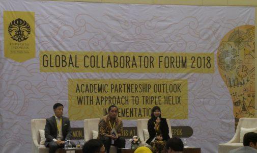 Meningkatkan Kerja Sama Triple Helix UI di Global Collaborator Forum 2018