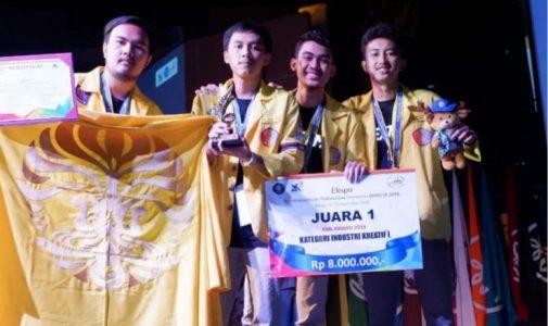 Produksi Tas Berpendar, Mahasiswa FIA UI Sukses Juara 1 KMI Award