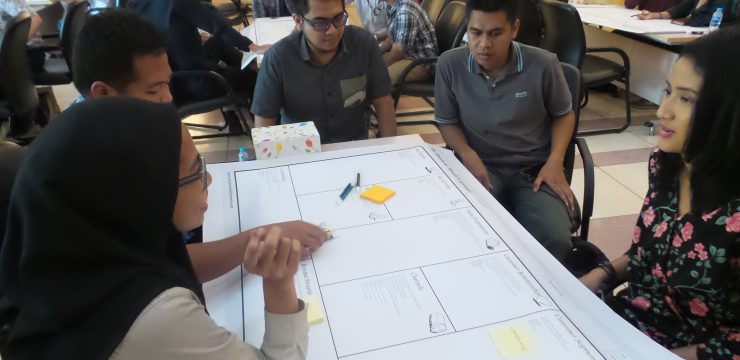 DIIB UI Gelar Workshop Model Bisnis Kanvas Bagi Peserta UI Incubate