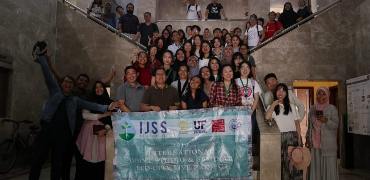 Faculty of Engineering UI Holds International Eco-City Themed Collaborative Research