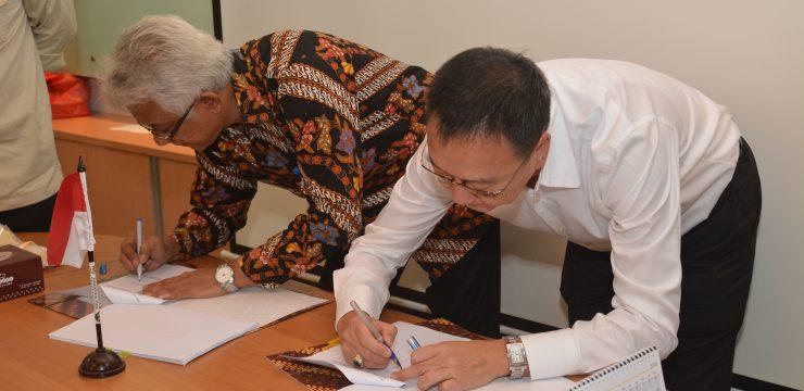 FT UI tandatangani Kontrak Pembangunan Gedung Teaching Laboratory dan Workshop