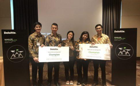 FEB UI Raih Prestasi di Ajang Kompetisi Pajak se-ASEAN