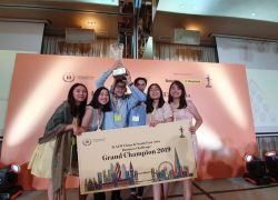 The FEB UI Team Wins a Champion in the Asian Level Business Competition