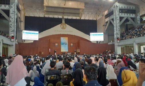 25.000 Peserta Penuhi Balairung UI Depok dalam Acara SBMPTN Info Day 2019