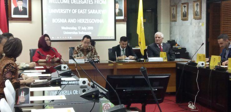 UI Receives Visit from University of East Sarajevo