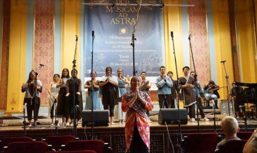Vocademia UI Raih Medali Emas pada Festival Paduan Suara di Polandia