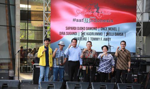 UI Gagas Simfoni dan Puisi untuk Satu Indonesia