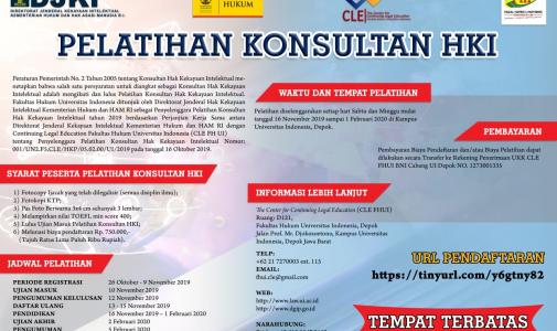 FHUI Gelar Pelatihan Konsultan HKI