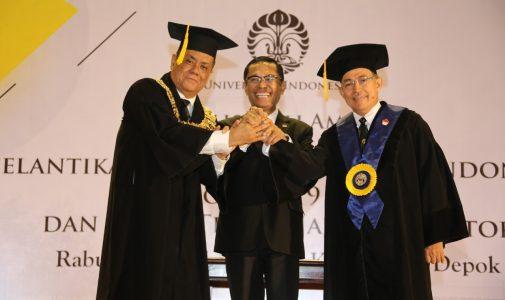 Prof. Ari Kuncoro Dilantik sebagai Rektor UI Periode 2019 – 2024