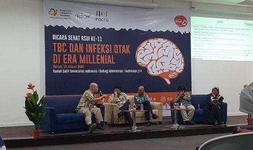 Sorot Milenial dan Anak, RSUI Adakan Seminar TBC dan Infeksi Otak