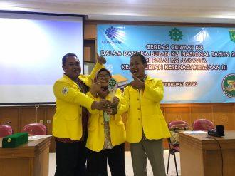 3 Mahasiswa UI Raih Penghargaan di Lomba Cerdas Cermat K3 Tingkat Nasional