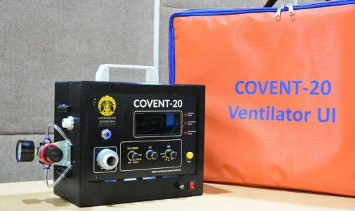 UI Serahkan Ventilator COVENT-20 ke RSCM