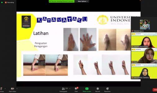 Tim Katamataku Berikan Edukasi Penyakit Kusta Bagi Mahasiswa Vokasi UI