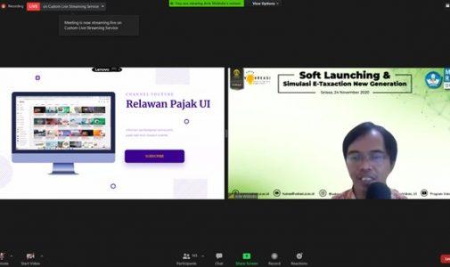 Vokasi UI Luncurkan E-Taxaction NG, Aplikasi Konsultasi Pajak Gratis Dukung UMKM Pahami Pajak